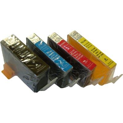 Canon edible ink tank set (BCI-3eBK, BCI-6C, BCI-6Y, BCI-6C)
