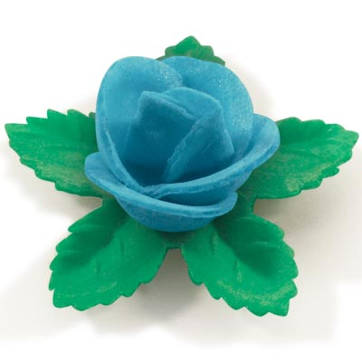 Small Wafer Flower with 6 petals & 5 leaves (150 per box)