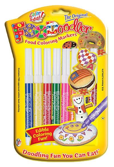 Edible Ink Writing Pens. 8x Colouring Markers.