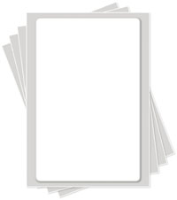 10 x 16 inch Icing Sheets